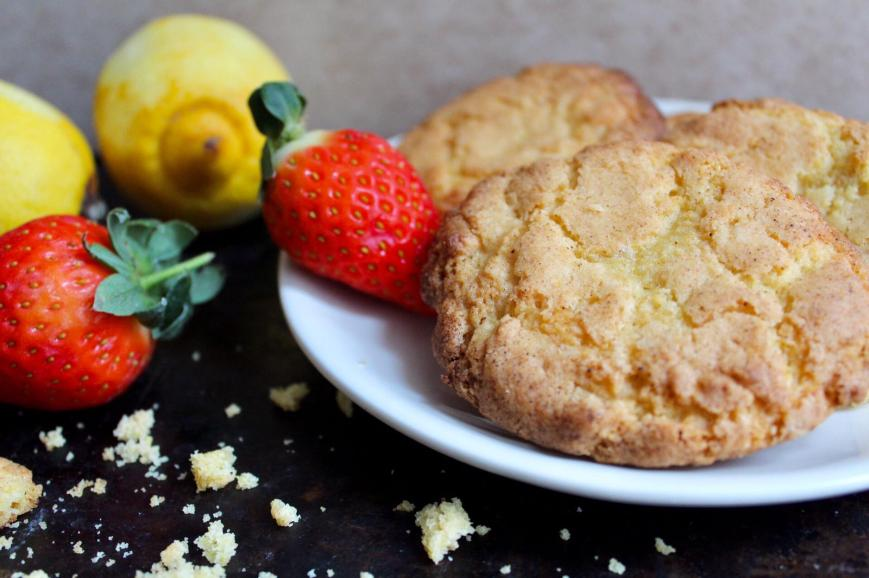 Lemon & Vanilla Cookies