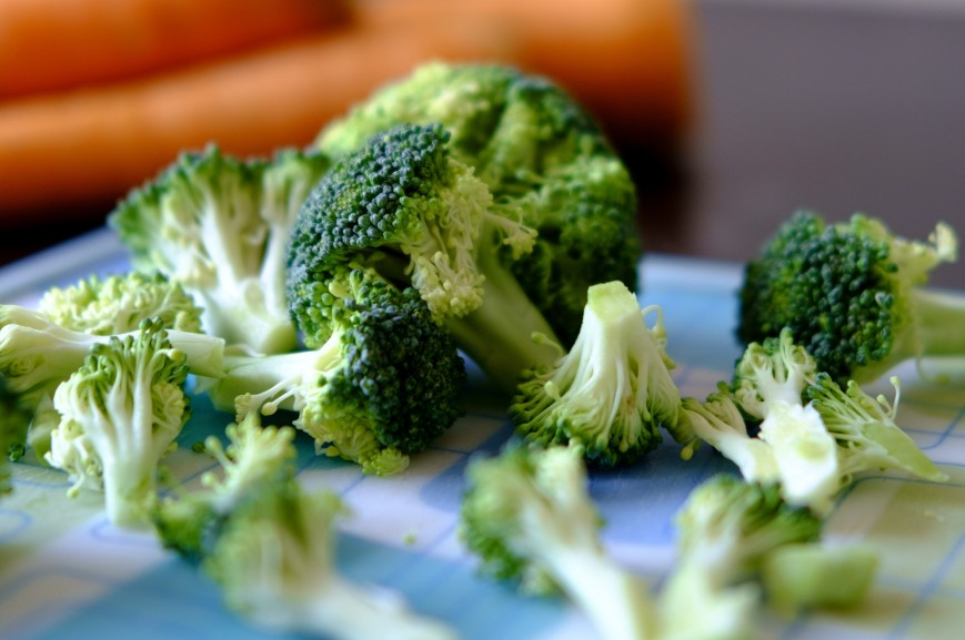 Broccoli Florets for Soup