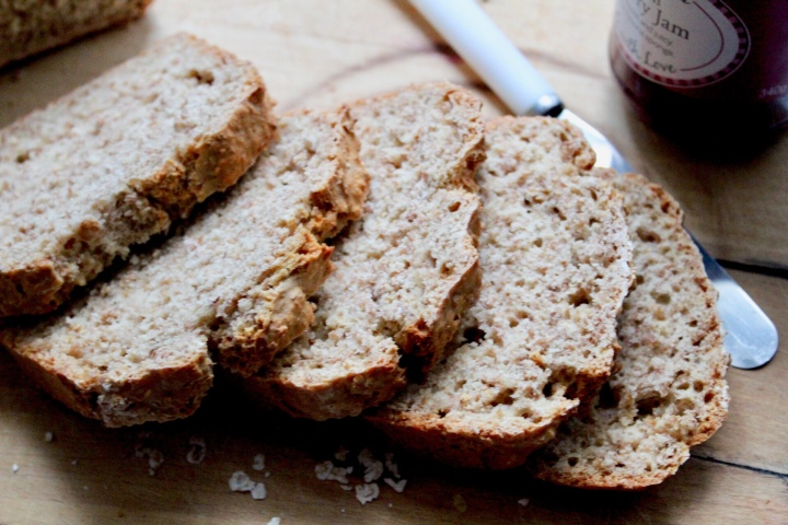 Dairy-free Brown Soda Bread